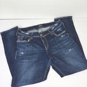 Silver Jeans Suki Ankle Slim